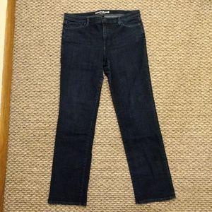 DKNY Soho Straight Women's Dark Wash Jeans Size 14
